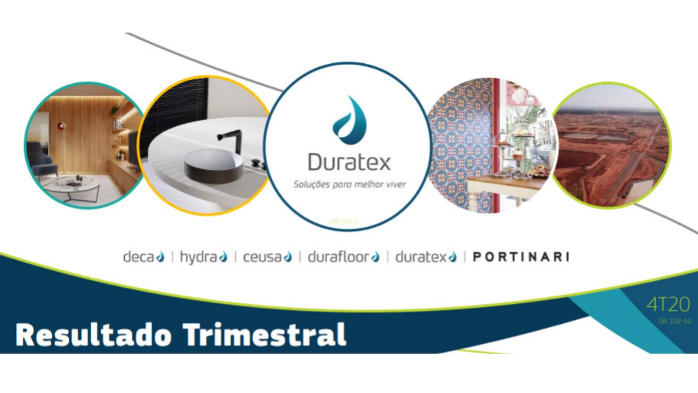 Duratex (DTEX3) tem lucro de R$ 301 milhões no 4T20 e anuncia dividendos